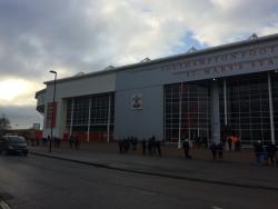 An image of St Mary's Stadium uploaded by neal