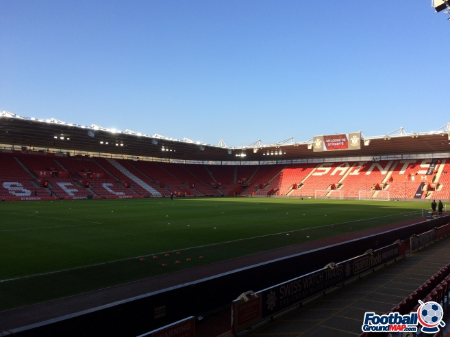 A photo of St Mary's Stadium uploaded by neal