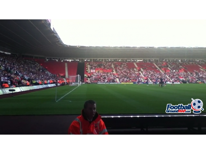 A photo of St Mary's Stadium uploaded by 36niltv