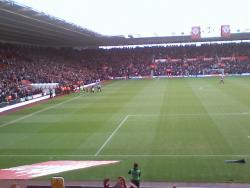 An image of St Mary's Stadium uploaded by facebook-user-90348