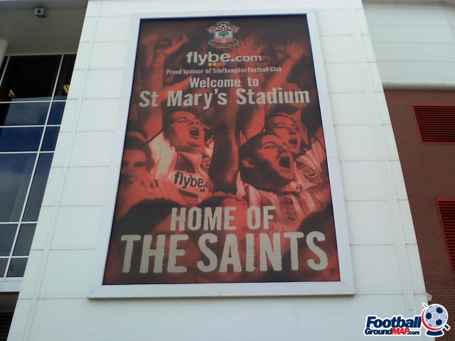 A photo of St Mary's Stadium uploaded by facebook-user-90348