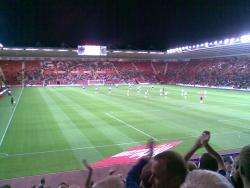 An image of St Mary's Stadium uploaded by gasheadsteve