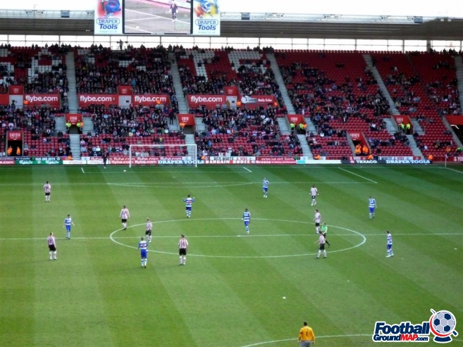 A photo of St Mary's Stadium uploaded by machacro