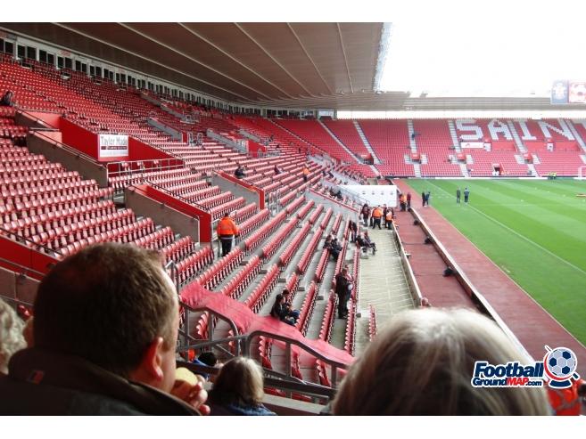 A photo of St Mary's Stadium uploaded by saintshrew