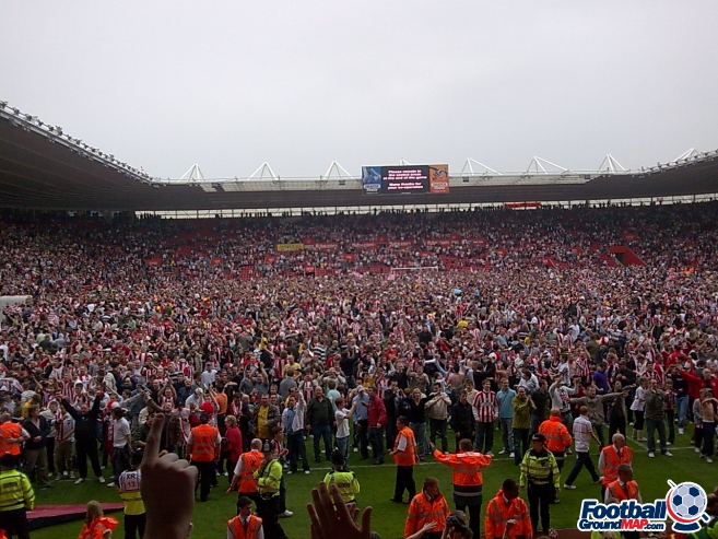 A photo of St Mary's Stadium uploaded by facebook-user-75535