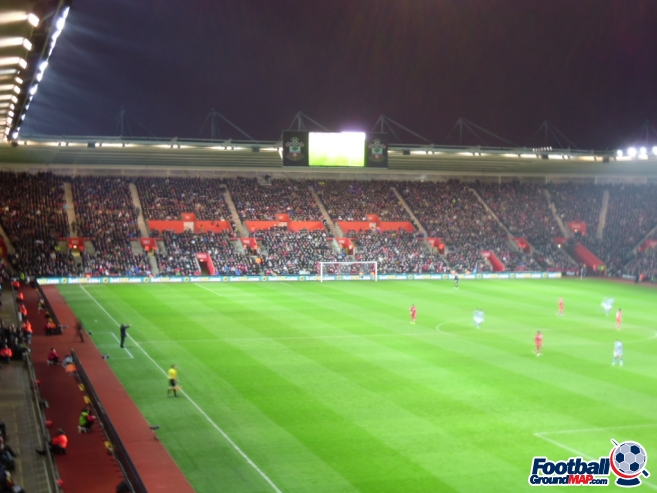 A photo of St Mary's Stadium uploaded by smithybridge-blue