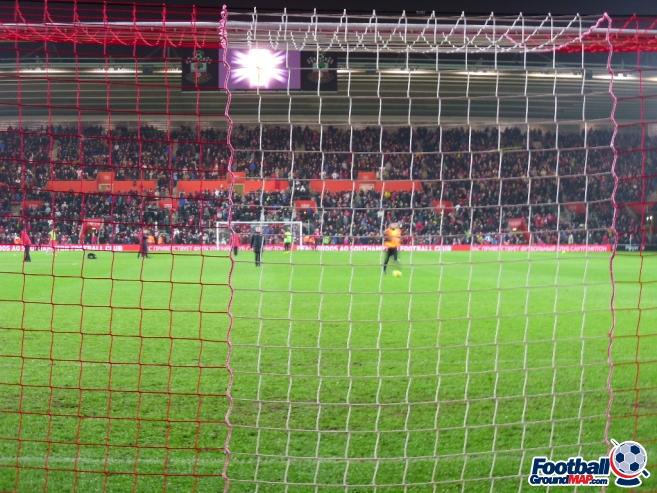 A photo of St Mary's Stadium uploaded by smithybridge-blue