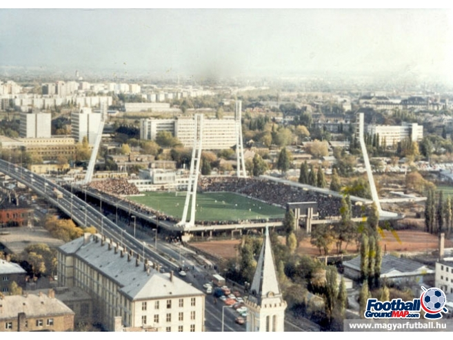 A photo of Stadion Albert Florian uploaded by magyarfutball
