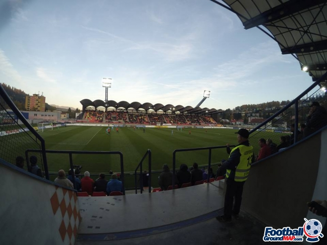 A photo of Stadion MFK Ruzomberok uploaded by briza25