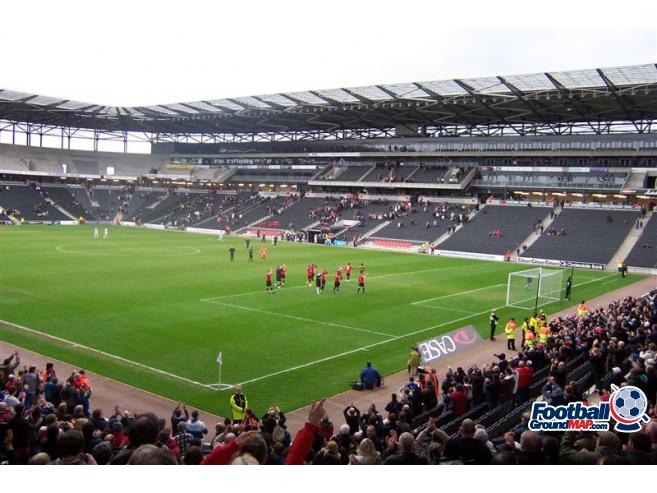 A photo of Stadium: MK uploaded by watesie
