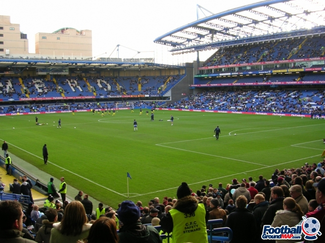 A photo of Stamford Bridge uploaded by stuff10