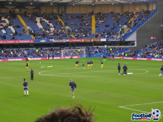 A photo of Stamford Bridge uploaded by stuff10