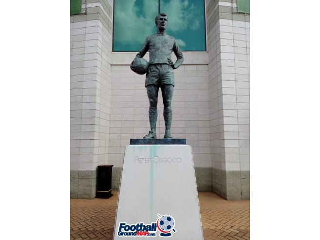 A photo of Stamford Bridge uploaded by totalrecoyle
