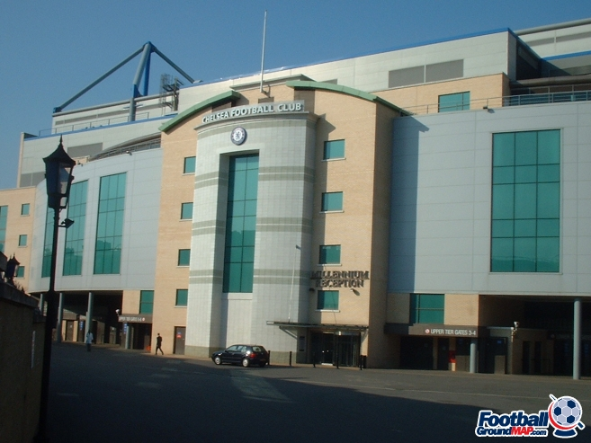 A photo of Stamford Bridge uploaded by facebook-user-76956