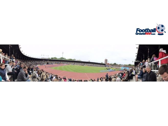 A photo of Stockholm Olympic Stadium uploaded by vileviking