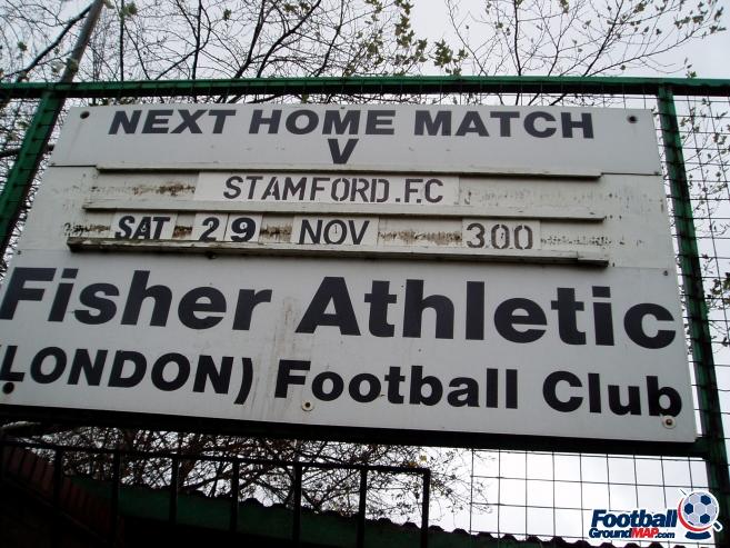 A photo of Surrey Docks Stadium uploaded by millwallsteve
