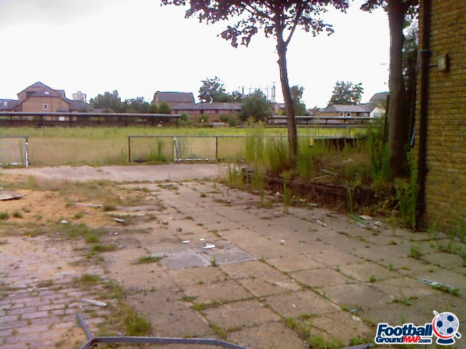 A photo of Surrey Docks Stadium uploaded by millwallsteve