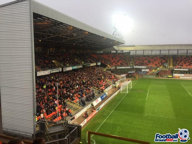 A photo of Tannadice uploaded by 36niltv