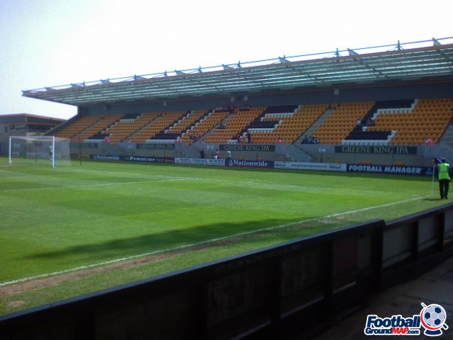 A photo of The Abbey Stadium uploaded by scot-TFC
