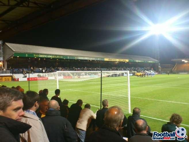 A photo of The Abbey Stadium uploaded by biscuitman88