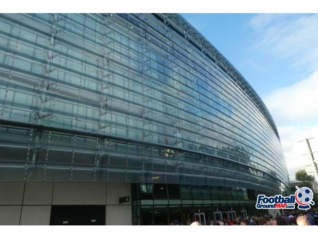 A photo of The Aviva Stadium uploaded by oldboy