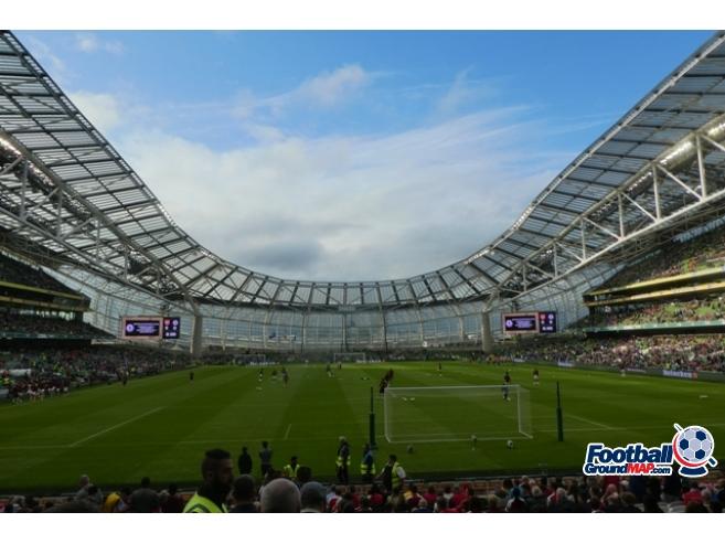 A photo of The Aviva Stadium uploaded by oldboy