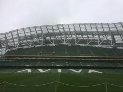 An image of The Aviva Stadium uploaded by siralf