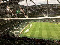 An image of The Aviva Stadium uploaded by baggiewire