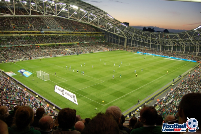 A photo of The Aviva Stadium uploaded by newrynyuk