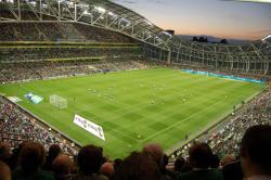 An image of The Aviva Stadium uploaded by newrynyuk
