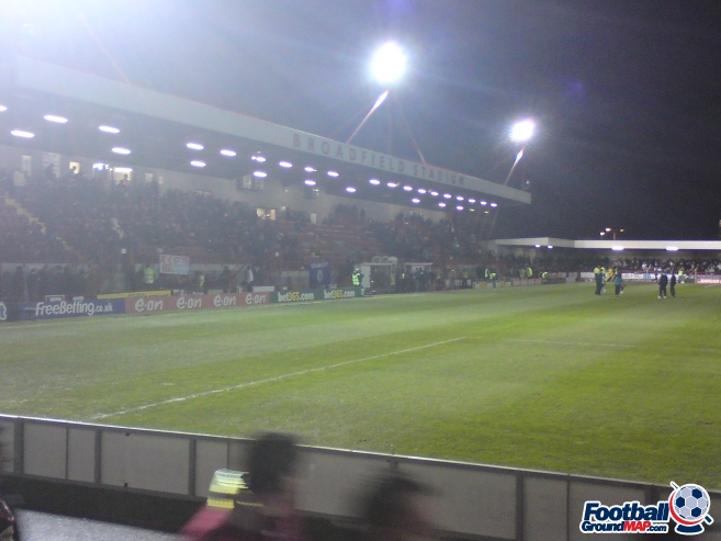 A photo of The Broadfield Stadium uploaded by biscuitman88