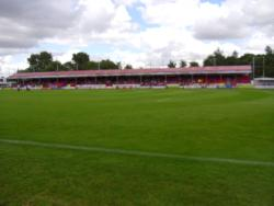 An image of The Broadfield Stadium uploaded by smithybridge-blue