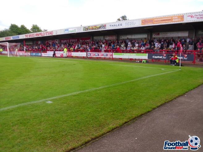 A photo of The Broadfield Stadium uploaded by smithybridge-blue