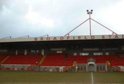An image of The Broadfield Stadium uploaded by facebook-user-90844