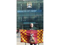 An image of The City of Manchester Stadium (Etihad Stadium) uploaded by joesue