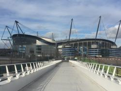 An image of The City of Manchester Stadium (Etihad Stadium) uploaded by groundhopper91