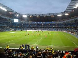 An image of The City of Manchester Stadium (Etihad Stadium) uploaded by paulo11smith