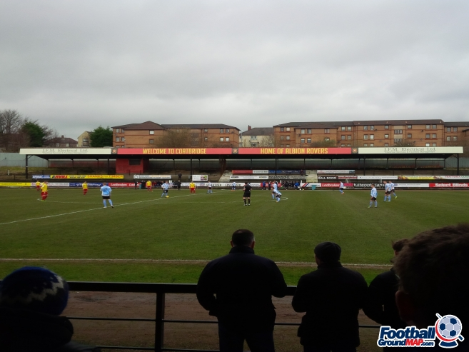 A photo of The Cliftonhill Stadium uploaded by beaver
