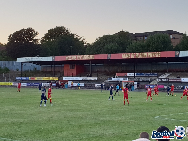 A photo of The Cliftonhill Stadium uploaded by little-miss-jag