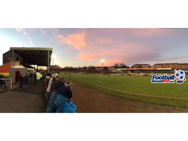 A photo of The Cliftonhill Stadium uploaded by frankie81