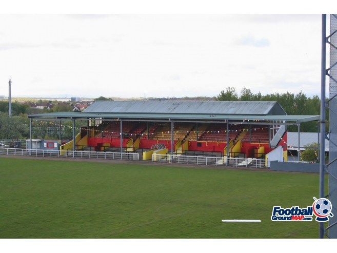A photo of The Cliftonhill Stadium uploaded by johnwickenden