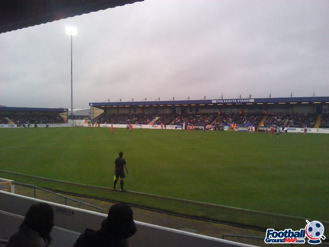 A photo of The Deva Stadium uploaded by etos72