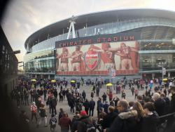 An image of The Emirates Stadium uploaded by robhofman