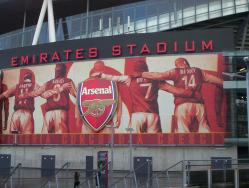 An image of The Emirates Stadium uploaded by facebook-user-103574