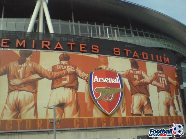 A photo of The Emirates Stadium uploaded by goatfood