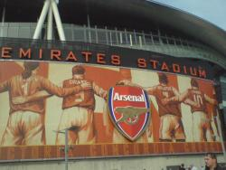 An image of The Emirates Stadium uploaded by goatfood
