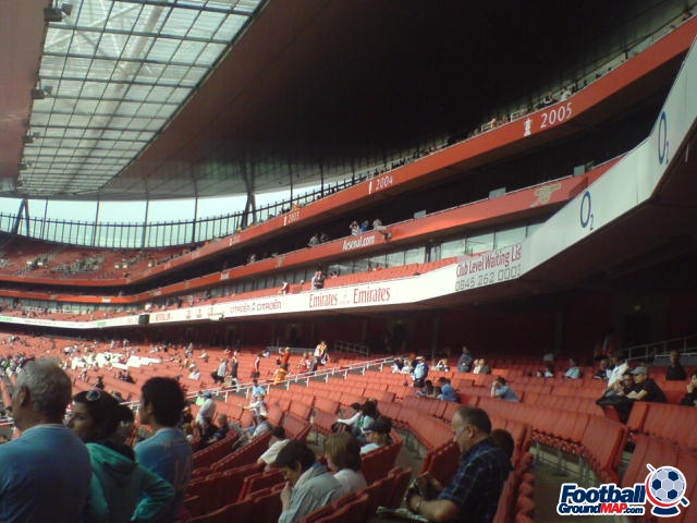 A photo of The Emirates Stadium uploaded by goatfood