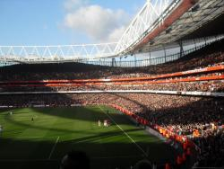 An image of The Emirates Stadium uploaded by facebook-user-100186