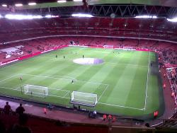 An image of The Emirates Stadium uploaded by sfc161
