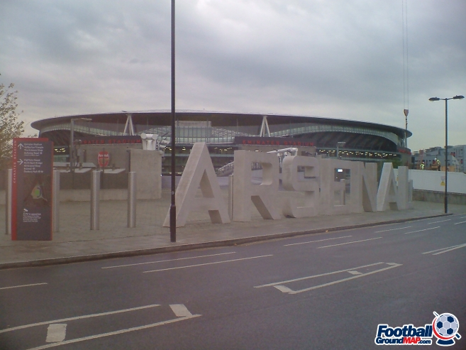 A photo of The Emirates Stadium uploaded by facebook-user-76956